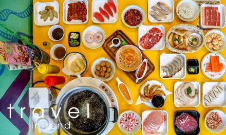 """อิ่มเต็มโต๊ะ กับบุฟเฟ่ต์ชาบูสัญชาติไทย """"มานีมีหม้อ"""" 1 ปีมีครั้งเดียว"""