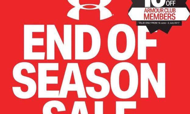 ช้อปไป ฟิตไป กับส่วนลดสุดคุ้มแห่งปี Under Armour End of Season Sale