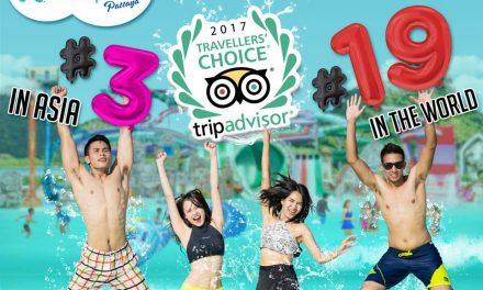 สวนน้ำรามายณะ พัทยา ตอกย้ำความสำเร็จ รั้งตำแหน่งอันดับ 3 สวนน้ำที่ดีที่สุดในทวีปเอเชีย จาก TripAdvisor