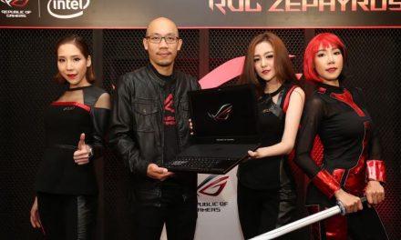 เอซุส เผยโฉม แล็ปท็อปเกมมิ่ง บางที่สุดในโลกอย่าง ROG Zephyrus GX501 ในไทยแล้ว