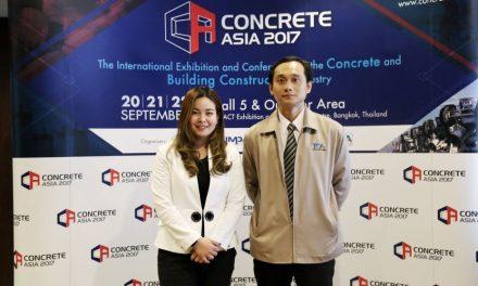 อิมแพ็คจัดใหญ่ Concrete Asia 2017 งานแสดงสินค้าเพื่ออุตสาหกรรมคอนกรีตและก่อสร้างระดับภูมิภาค
