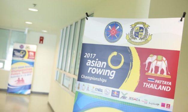 สมาคมกีฬาเรือพายแห่งประเทศไทย  แรงปลายปี จัดกิจกรรมใหญ่ การแข่งขันเรือกรรเชียงชิงชนะเลิศแห่งเอเชีย ประจำปี 2560  รายการ 2017 ASIAN ROWING CHAMPIONSHIPS เป็นครั้งแรกในประเทศไทยโดยมีนักกีฬาตบเท้าเข้าร่วมกว่า 25 ประเทศจากทั่วเอเชีย
