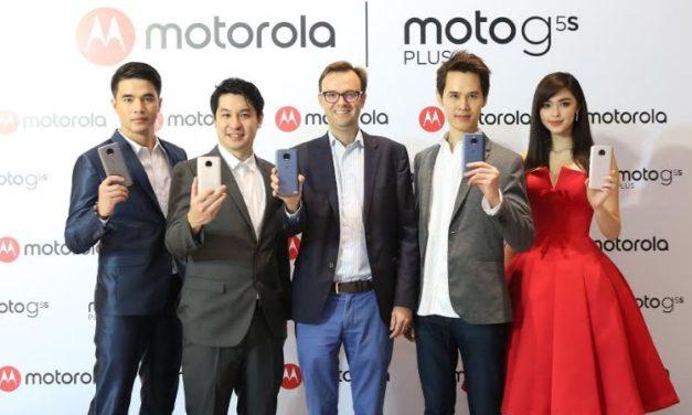 โมโตโรล่า เปิดตัว moto g5s และ moto g5s plus สมาร์ทโฟนรุ่นพิเศษจากตระกูล moto g อัดแน่นด้วยคุณสมบัติเหนือชั้น
