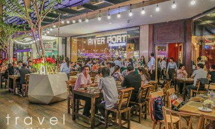 """ร้านอาหารฟิวชั่นพรีเมี่ยม """"ริเวอร์ พอร์ต"""" ศูนย์กลางความสุขสุดหรูแห่งใหม่ริมแม่น้ำเจ้าพระยา"""