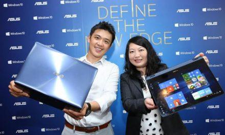 เอซุสประกาศติดตั้ง Windows 10 ในแล็ปท็อปทุกรุ่นในประเทศไทย