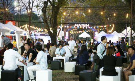 """ต่าย – น้ำฝน- บอย ชวน เที่ยว TAT LAB ห้องแลปการท่องเที่ยว ในงาน """"เทศกาลเที่ยวเมืองไทย ประจำปี 2561"""""""