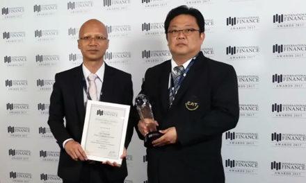 CATคว้ารางวัลระดับโลก Best Contribution to Digital Infrastructure Development–Thailand จากงานIFM Awards 2017