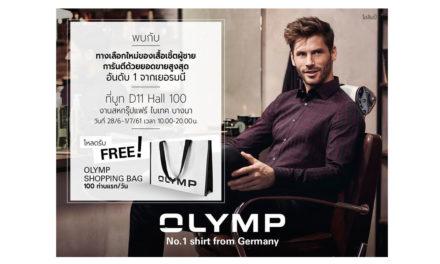"""พบคอลเลคชั่นใหม่ล่าสุด """"OLYMP-โอลิมป์"""" เสื้อเชิ้ตผู้ชาย ยอดขายอันดับ 1 จากเยอรมนี"""