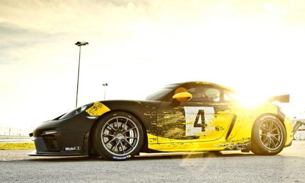 The new Porsche 718 Cayman GT4 Clubsport สายพันธุ์แรง ที่มาพร้อมตัวถัง natural-fibre