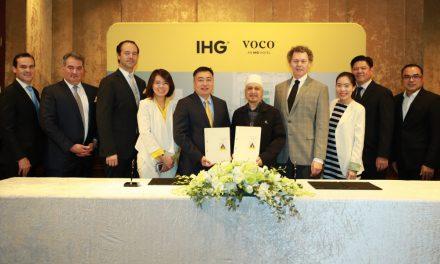 IHG ประกาศเปิดโรงแรม voco™ แห่งแรกในเอเชียตะวันออกเฉียงใต้ การปรากฏตัวครั้งแรกของแบรนด์ระดับพรีเมี่ยมแห่งแรกในภูมิภาค ใจกลางกรุงเทพมหานคร