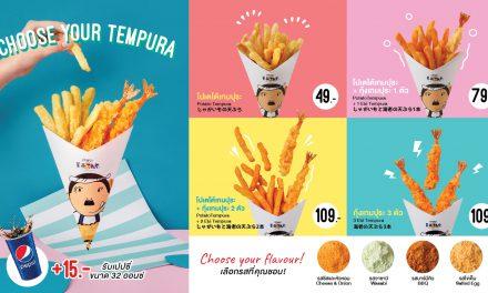 """""""เทนยะ"""" เปิดความอร่อยสไตล์ใหม่ ในรูปแบบ Grab & Go  กินง่าย กินอร่อย ได้ทุกที่ทุกเวลา พร้อมเปิดตัวครั้งแรกในไทย กับ """"TENYA Tempura Corner"""""""