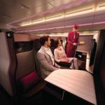 สายการบินกาตาร์ แอร์เวย์ส ให้บริการที่นั่งชั้นธุรกิจ 'QSUITE' (คิวสวีท) ในเส้นทางกรุงเทพฯ ที่นั่งชั้นธุรกิจที่ได้รับรางวัลรับรองคุณภาพจะเริ่มให้บริการตั้งแต่วันที่ 15 กรกฎาคม 2562 เป็นต้นไป