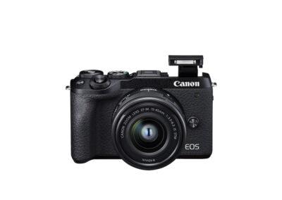 EOSM6II_8_EC811_BK_FrontSlantDown_EF-M15-45mm1.3.5-6.3ISSTM