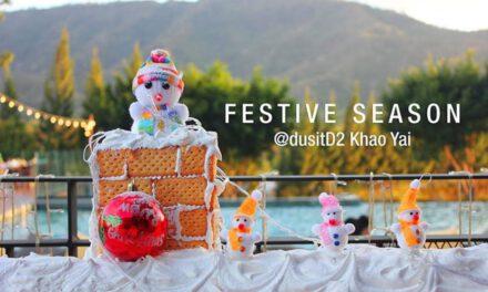เฉลิมฉลองเทศกาลแห่งความสุข คริสมาสต์ อีฟ และร่วมส่งท้ายปีเก่า ต้อนรับปีใหม่ 2563 ที่โรงแรมดุสิตดีทู เขาใหญ่
