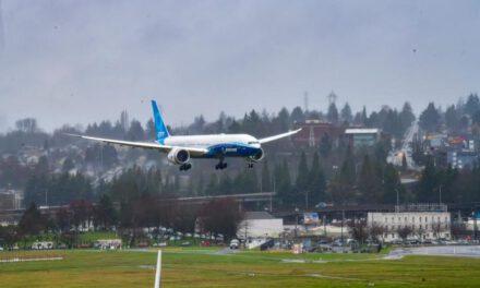 โบอิ้งประกาศความสำเร็จ หลังการขึ้นบินครั้งแรกของเครื่องบิน โบอิ้ง 777X