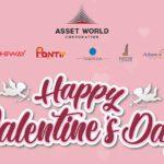 7-29 ก.พ. นี้ ศูนย์การค้าและอาคารสำนักงานเครือ AWC ร่วมจัดแคมเปญ 'Happy Valentine's Day'