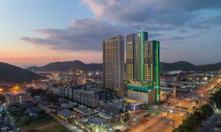 โรงแรม HOLIDAY INN® & SUITES SIRACHA LAEMCHABANG เปิดให้บริการแล้ว โรงแรม Holiday Inn แห่งที่ 11 ในประเทศไทยเปิดให้บริการที่อีสเทิร์นซีบอร์ด