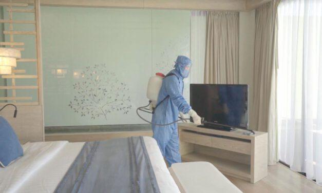 เคป แอนด์ แคนทารี โฮเทลส์ คุมเข้มมาตรการด้านสุขอนามัยเพื่อความปลอดภัยของลูกค้า ชู Hydrogen Peroxide ฆ่าเชื้อไวรัสโควิด-19 ใน 1 นาที